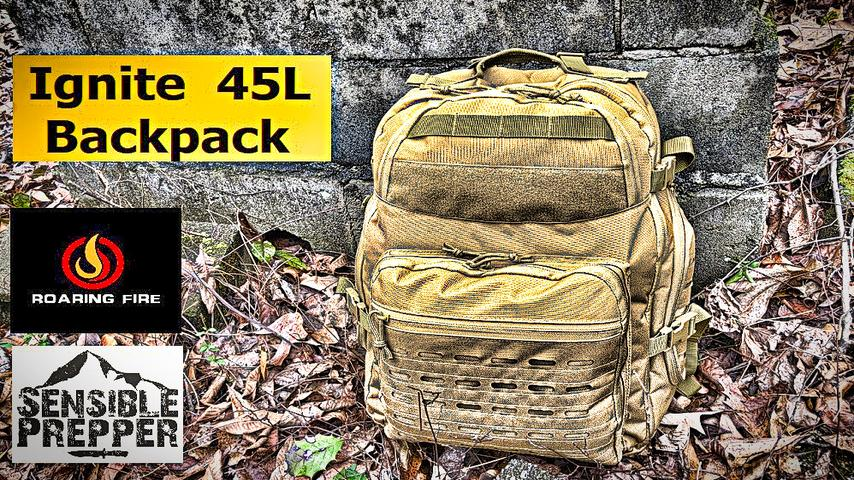Ignite 45L Backpack Review : Roaring Fire Gear.