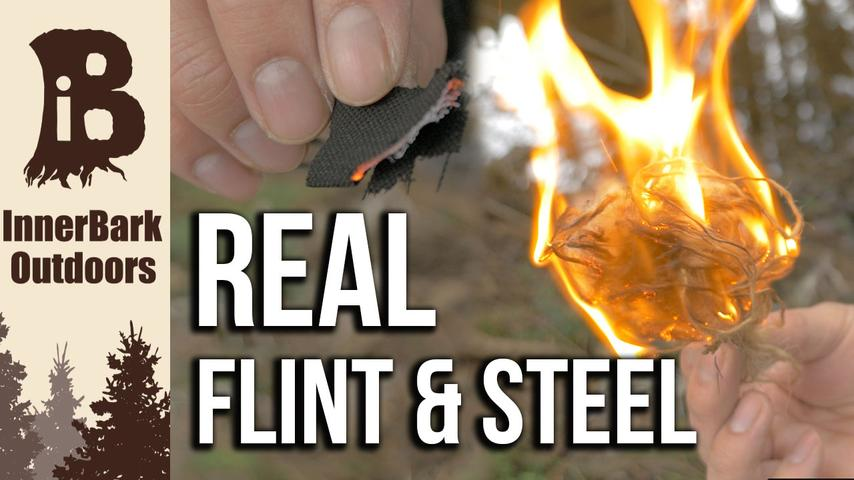 Traditional Fire Making | DIY How to Make Charcloth