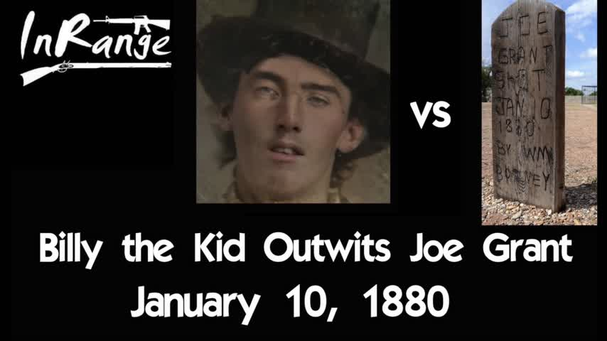 Billy the Kid Outwits Joe Grant