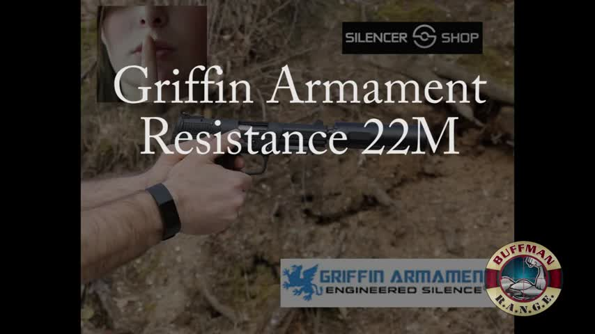 Griffin Armament Resistance 22M, Suppressor, Silencer Shop Authority