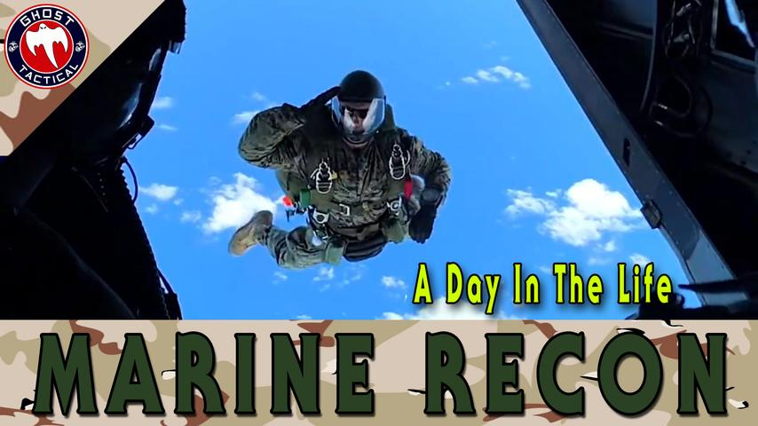 Marine Corps Recon: A Day In The Life: The Real Call of Duty!