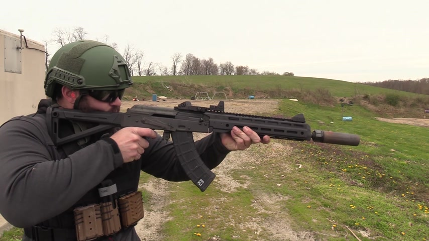 Space AK 5000 Rounds Later || Occam Defense ODS-1775