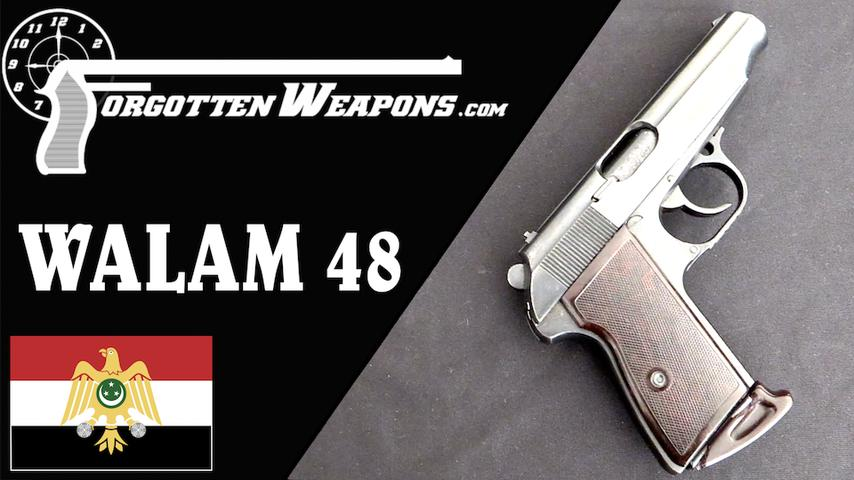 A Walther copied by Hungary for Egypt: the WALAM 48