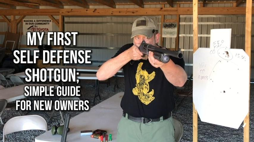 My First Self Defense Shotgun; Simple Guide for New Owners