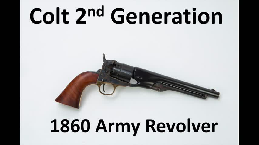 Colt's 2nd Generation 1860 Army Revolver