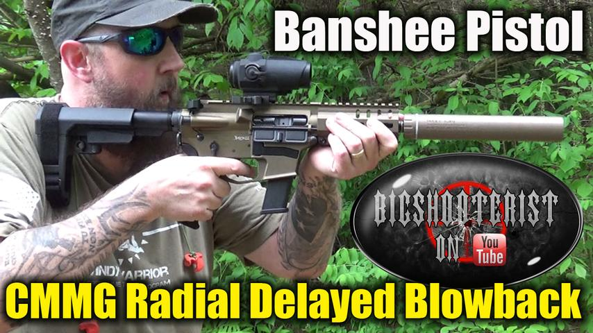 CMMG Radial Delayed Blowback System