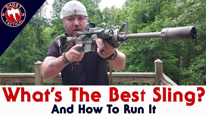 The Best AR-15 Sling Setup & How To Run It!