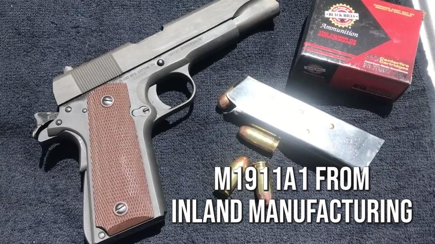 M1911A1 from Inland Manufacturing