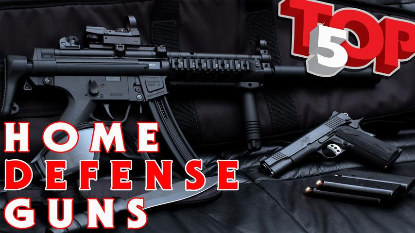 TOP 5 Guns To Defend Your Home or Business: Pros & Cons of Each
