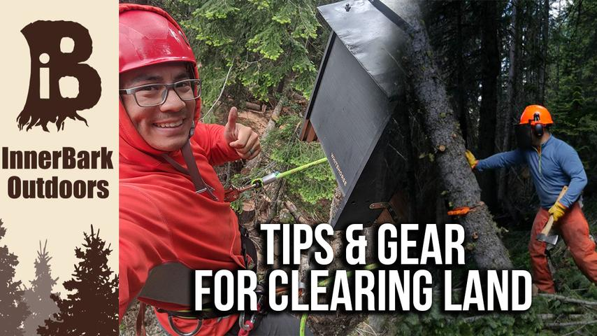 How I am CLEARING LAND at my REMOTE cabin