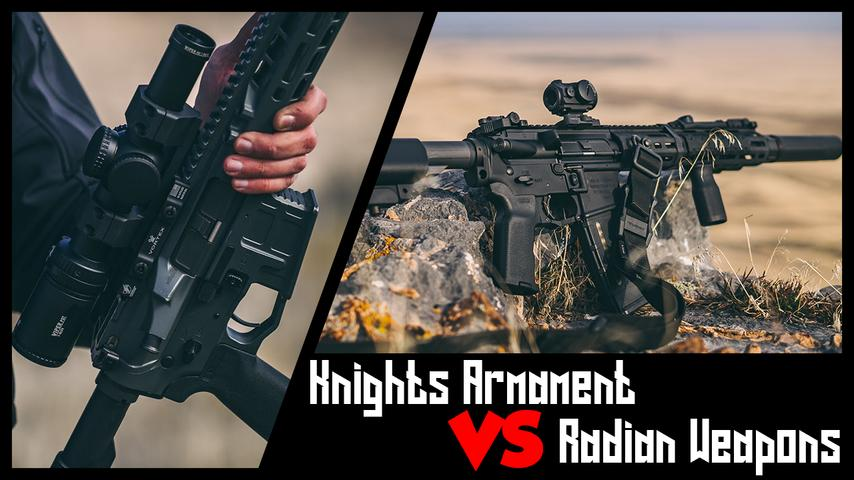 Knights Armament SR15 vs Radian Model 1