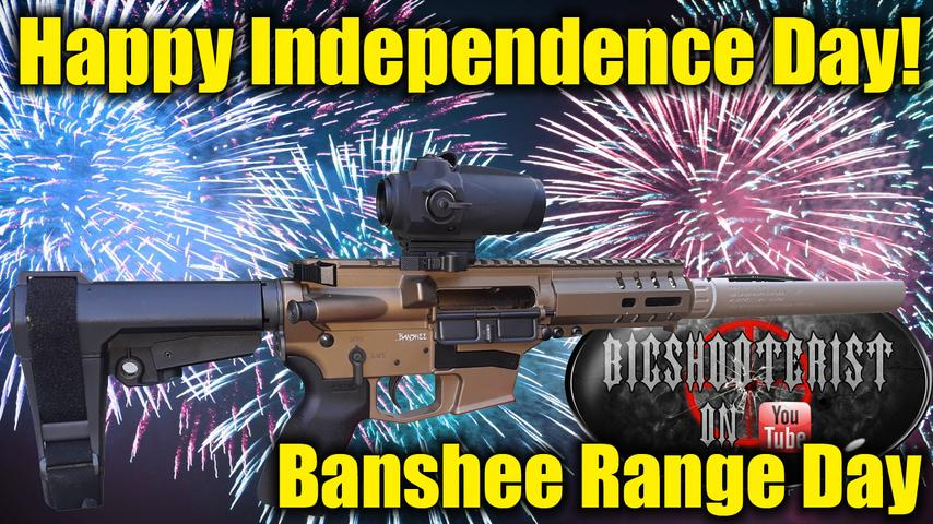Happy Independence Day 2020! CMMG Banshee Range Day.