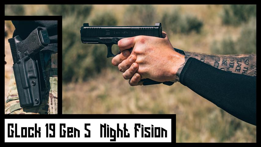 Glock 19 Gen 5 MOS - Night Fision Accur8