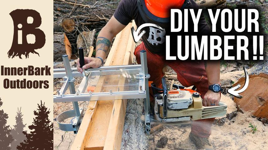 Portable Chainsaw Mill | DIY Lumber