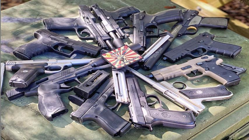Shooting ALL The 22LR Pistols We've Got & Then Some!!