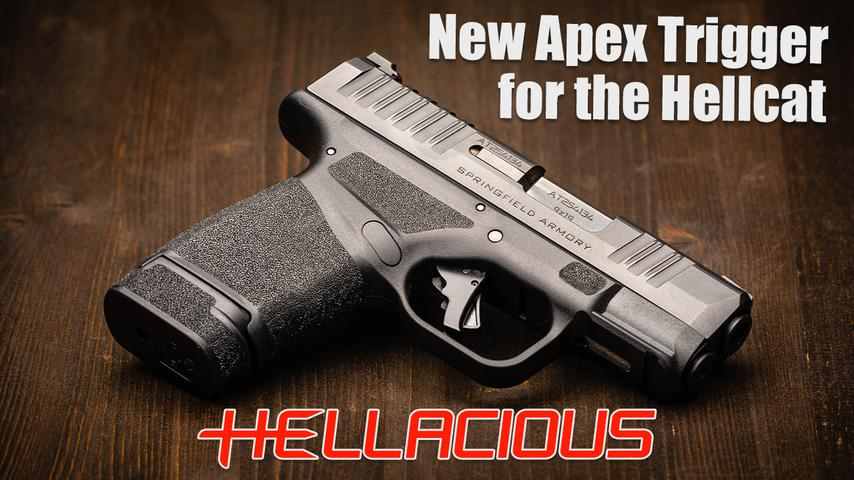 Apex's Action Enhancement Trigger for the Springfield Armory Hellcat