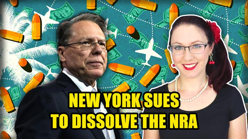 New York AG Sues to Dissolve the NRA