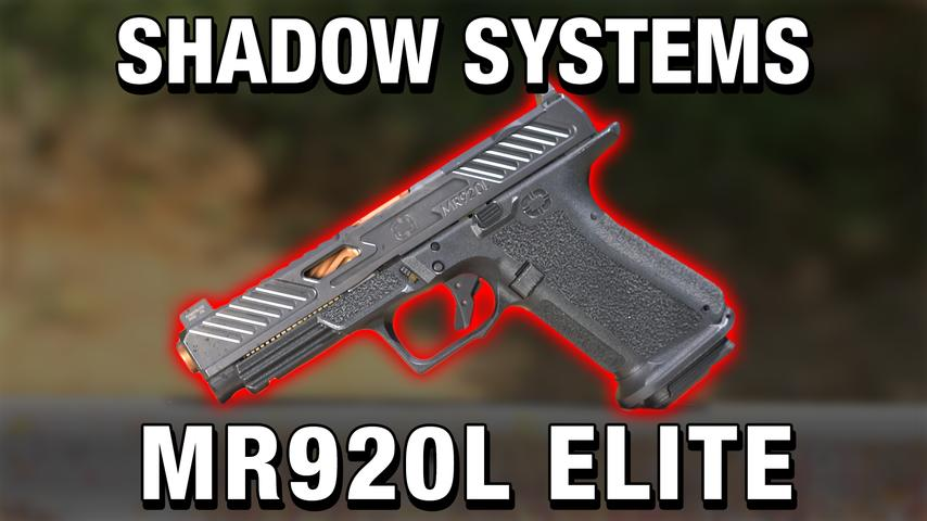 What Glock Wishes They Made | Shadow Systems MR920L Elite Review!