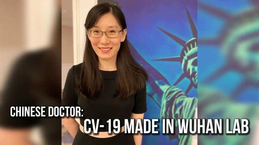 Chinese Doctor: CV-19 Made in Wuhan Lab   SOTG 989