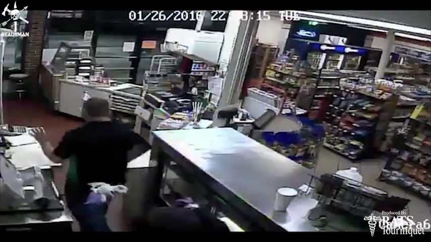Plan 2 React - Veteran Commits to Counter-Attack in Gas Station Robbery