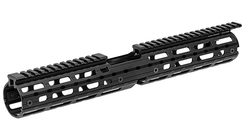 How-To Install a UTG Super Slim Drop In Handguard on a Ruger AR556 #585