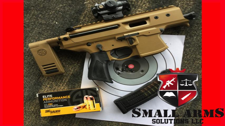 The Sig Copperhead MPX