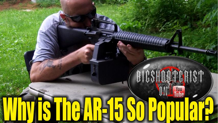 Why is the AR15 So Popular?