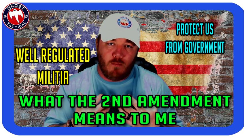 What The 2nd Amendment Means To Me:  #2Achallenge