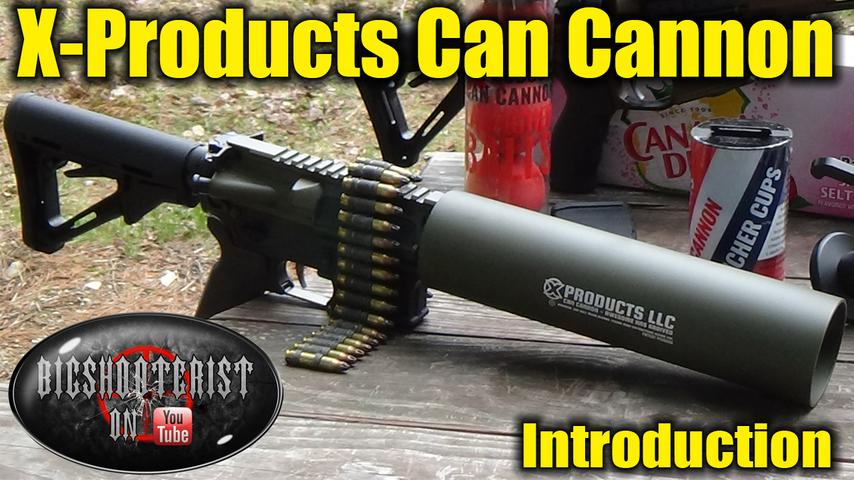 The Can Cannon by X-Products.