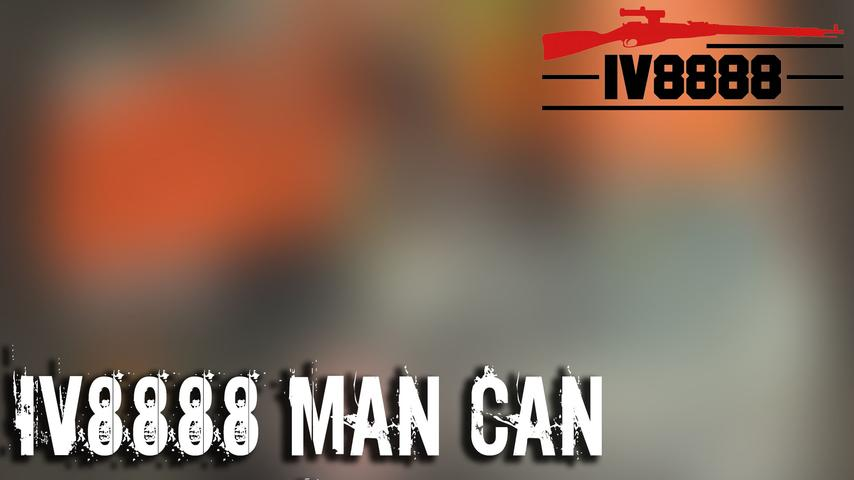 IV8888 MAN CAN April 2019 Unboxing