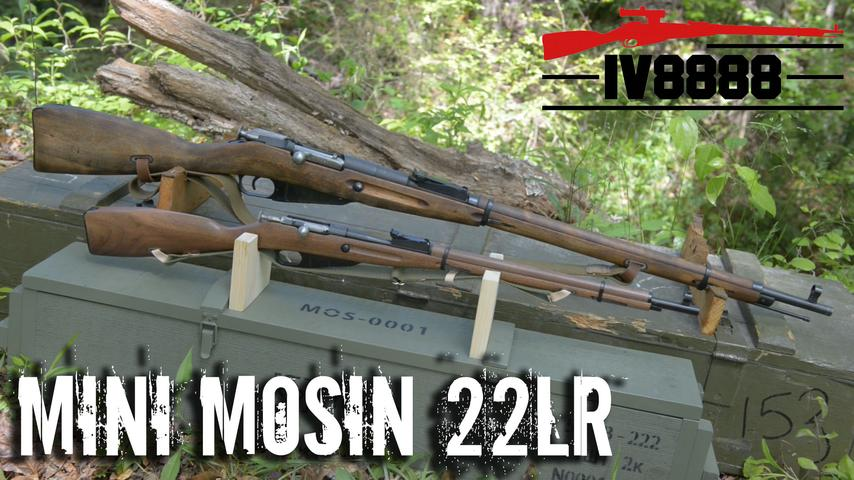 KSA Mini Mosin 22LR!