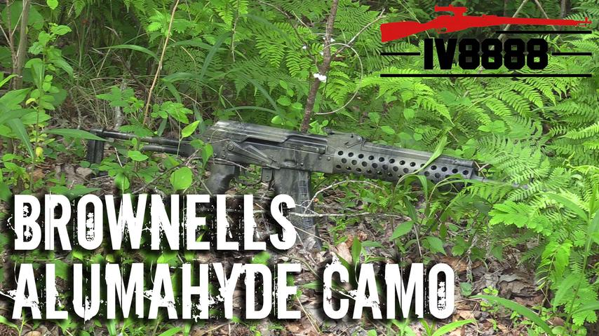 "Brownells Aluma ""Hyde in the Woods"" Camo"