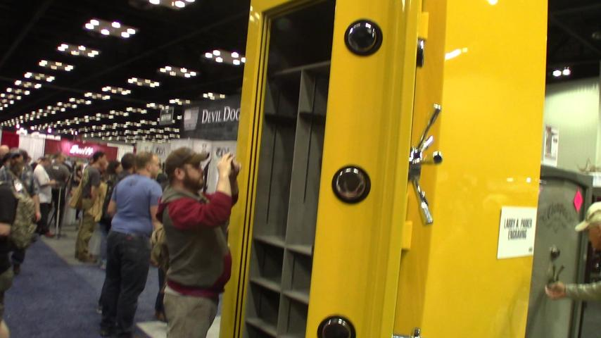 BIG safe at the NRA convention 2019
