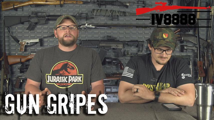 "Gun Gripes #190: ""Texas Voting to Decriminalize Silencers!"""