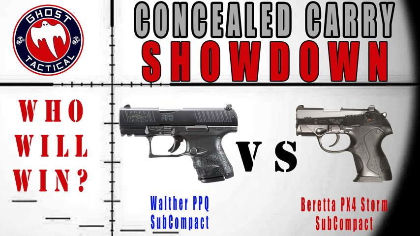 Concealed Carry Showdown:  Walther PPQ SC vs Beretta PX4 Storm SC