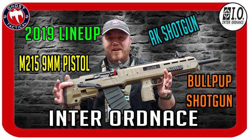 Inter Ordnance 2019 Lineup:  PCC, AR-15, and Shotguns