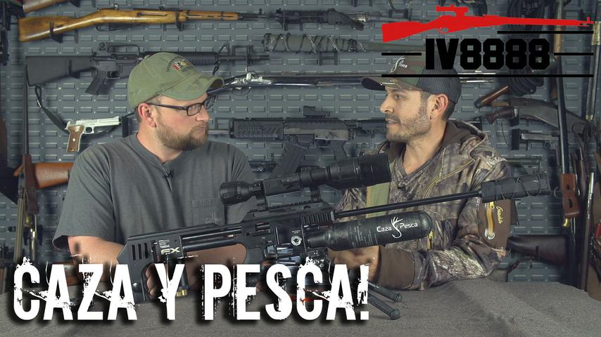 Airgunning with Caza Y Pesca!