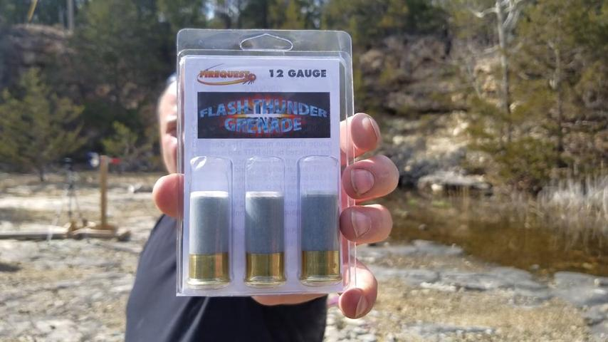 FireQuest Flash Thunder Grenade 12GA Rounds