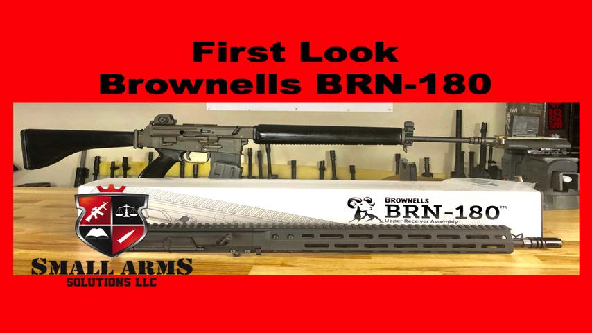 First Impressions of the Brownells BRN-180