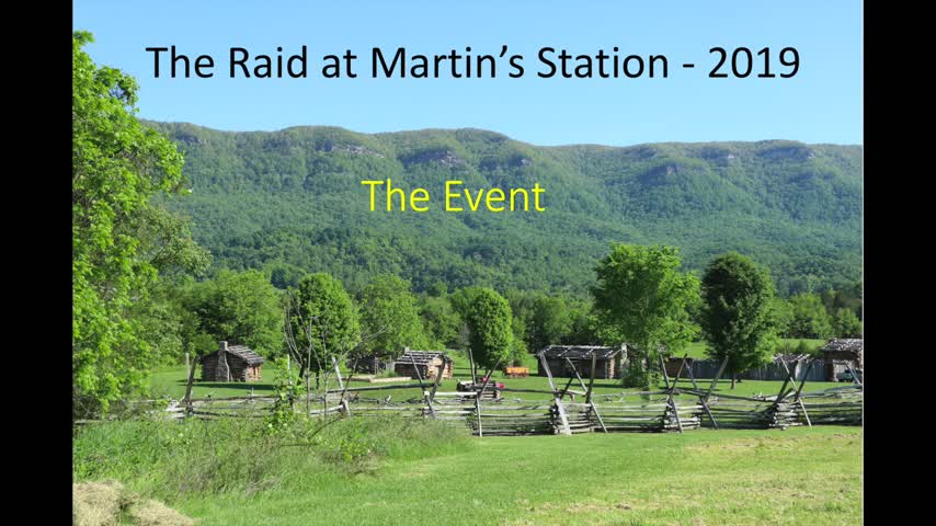 The Raid at Martin's Station 2019 - The Event