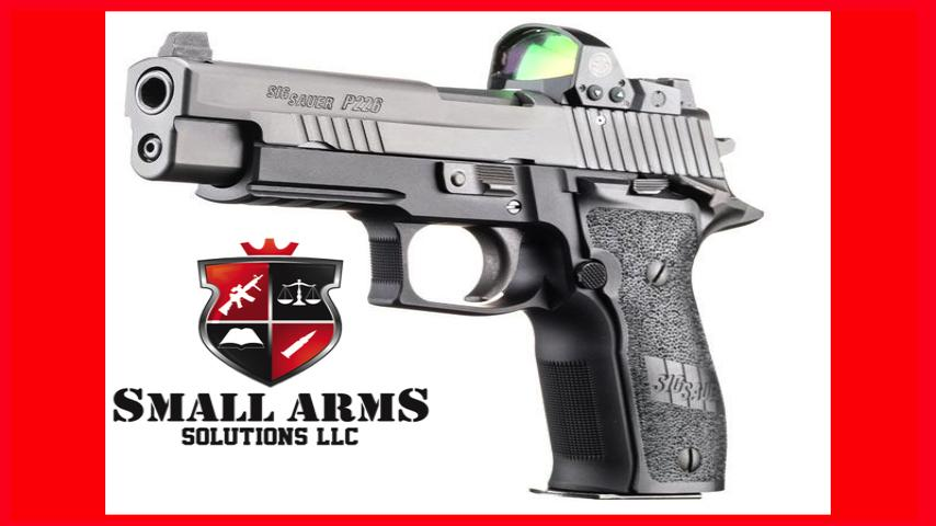 The Sig P226 RX with Romeo1