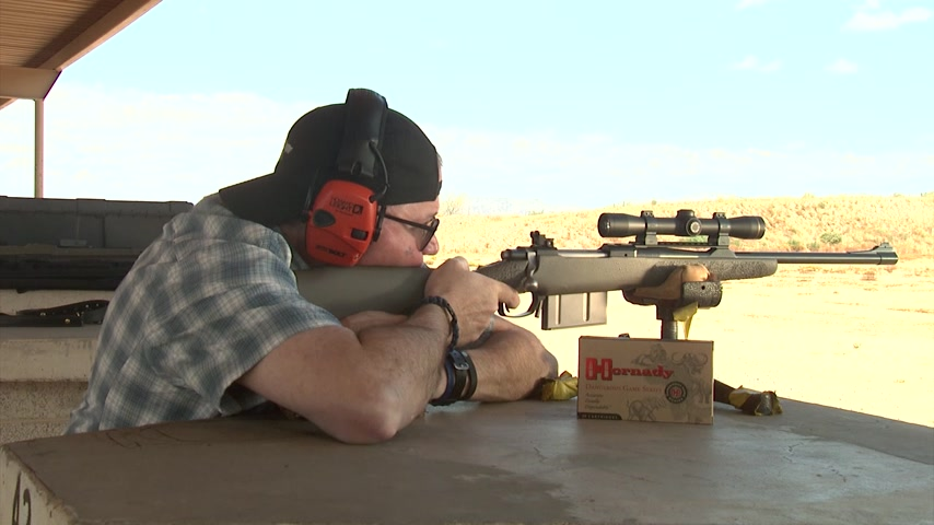 ROBAR .375 Ruger Dragoon Scout Rifle Range Test #621