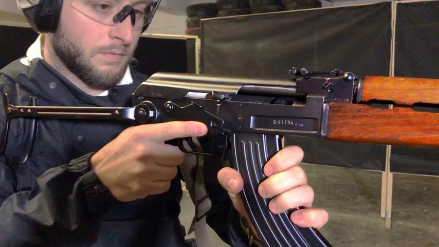 AK with a bolt catch? | Zastava M70 A