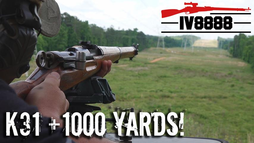 K31 at 1000 Yards!
