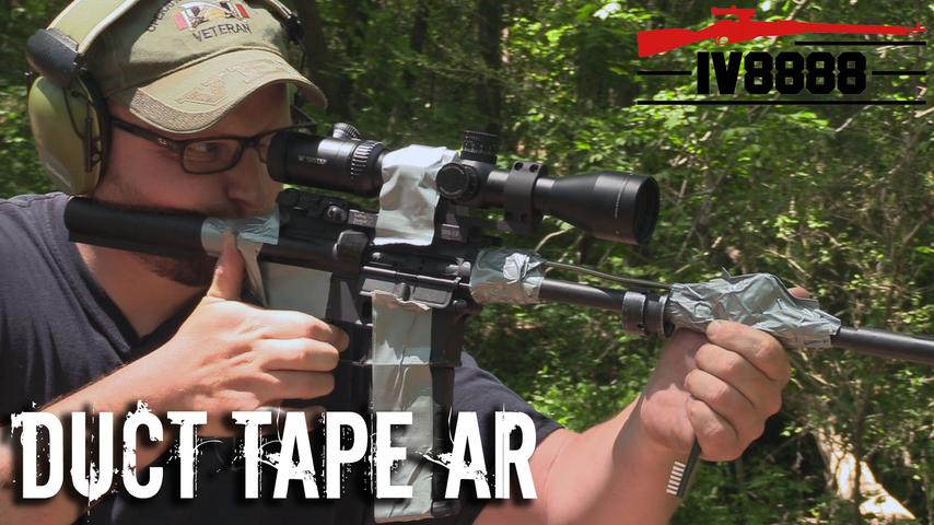 Replacing Parts on AR with DUCT TAPE!