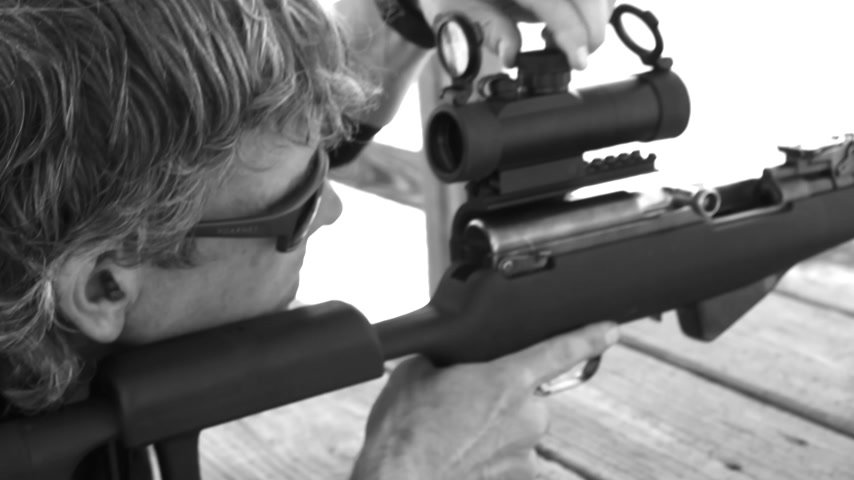 Crazy Ivan SKS Scope Mount Demonstration