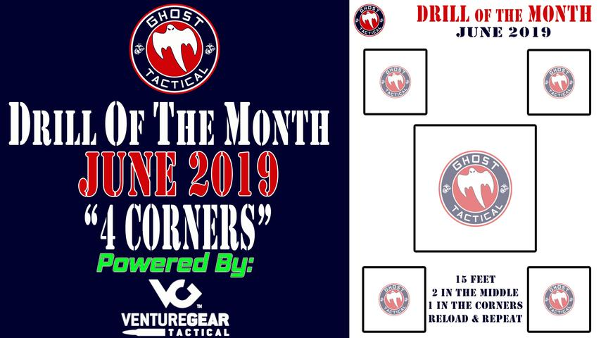 Ghost Tactical Drill of the Month: June 2019: 4 Corners