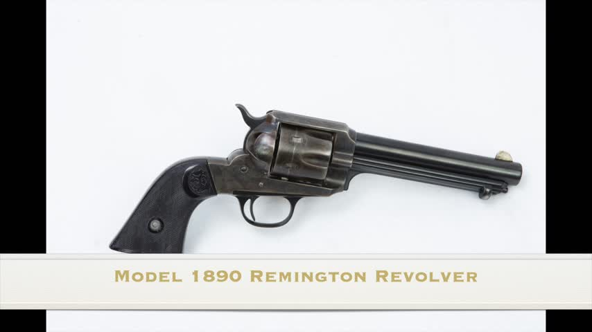 Model 1890 Remington Revolver