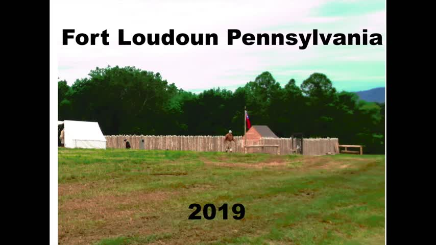 Fort Loudoun Pennsylvania 2019