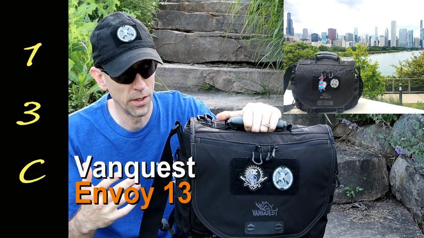 Vanquest Envoy 13 Messenger Bag